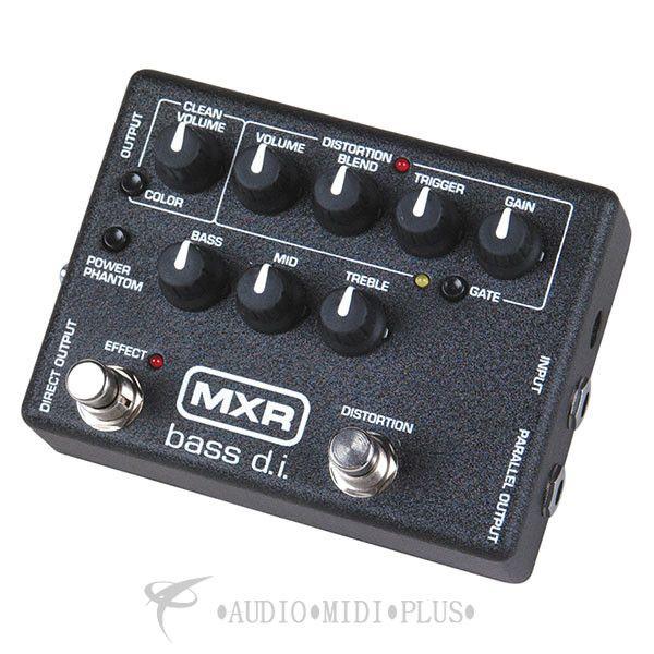 Dunlop MXR Bass D.I.Plus Pedal - M80-U