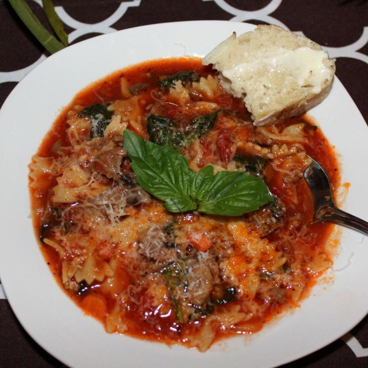 Lasagna Soup | Recipe | Lasagna soup, Italian sausages and ...