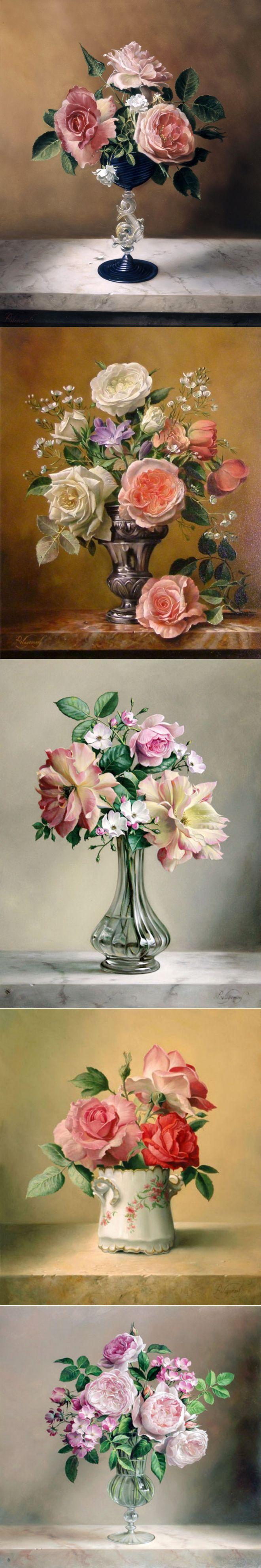 «Я предпочитаю розы из-за их аристократической ауры...» | Pieter Wagemans.