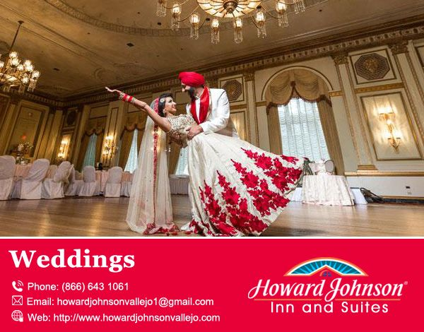 Howard Johnson Inn & Suites of Vallejo is the perfect boutique hotel for Weddings Visit Us At:-  http://bit.ly/1XtsFf1