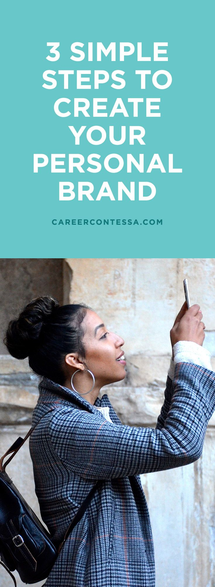 """A powerful personal brand is clear and compelling. Whether you want to land your dream job or launch your dream business, you need to know and own your """"it"""" (your unique intrinsic value) to stand out from the competition and truly shine. This is the purpose of your personal brand. Which is why we have the 3 steps """"it girls"""" use to build an epic personal brand. 