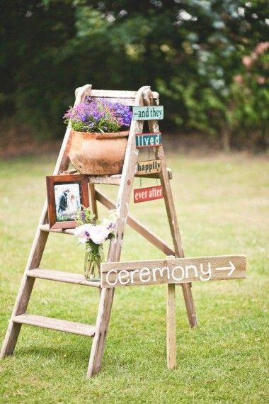 Signage is a big trend in wedding décor – a cute and quirky way to direct your guests or highlight something of interest (i.e. the bar), there's lots of creative styles you can opt for. And there are so many ways signs can be included in your day from draping you and your new hubby's status at the back of your reception chairs to pointing out the likes of the reception or photobooth or including them in your ceremony. There's also some really creative ways to display them that can add the…