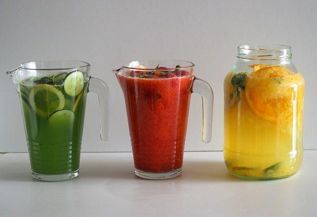 Idealna na letnie upały lemoniada. Truskawkowa, ogórkowa, klasyczna. Szybka i pyszna.