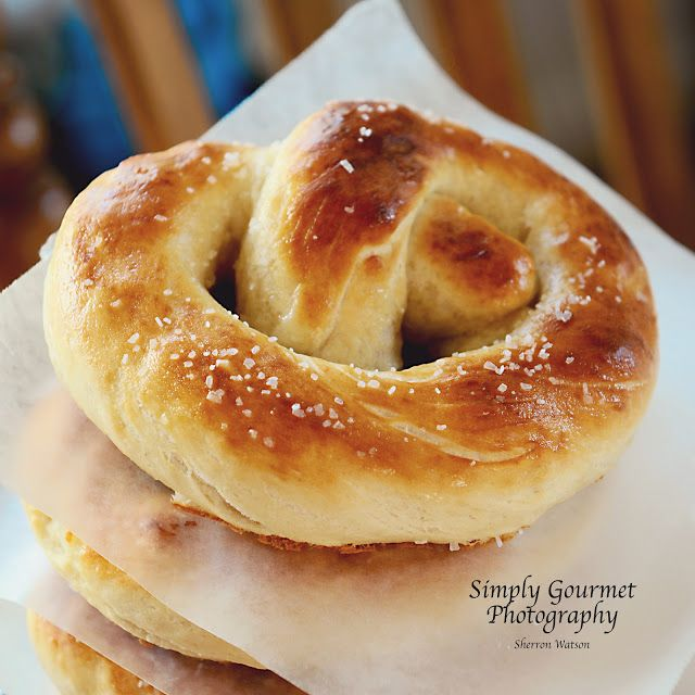 Pretzels and Cooking with Kids - from simply-gourmet.com