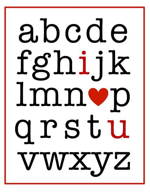 Free Valentine's Printables!