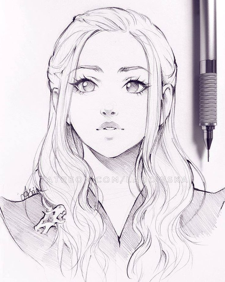 The 25+ Best Girl Face Drawing Ideas On Pinterest | Drawings Of Girls Faces Drawing Faces And ...