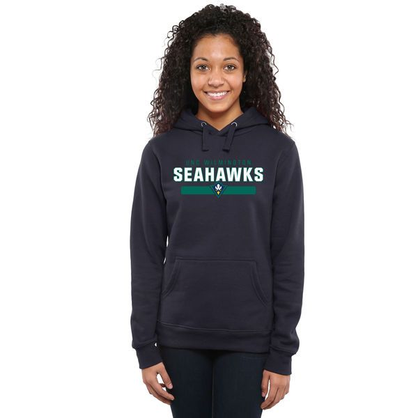 UNC Wilmington Seahawks Team Strong Pullover Hoodie - Navy - $44.99