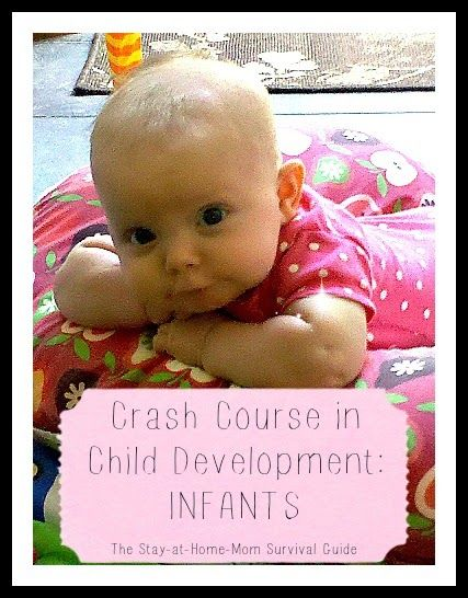 Developmental information for infants from birth to 13 months
