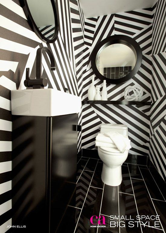 Best 52 Best Black And White Striped Wall Images On Pinterest 400 x 300