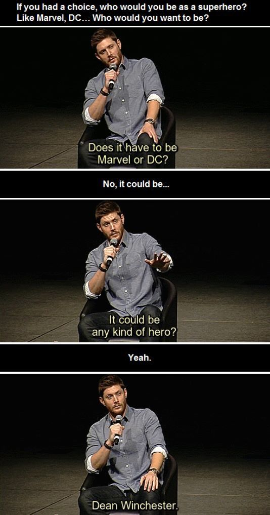Jensen unknowingly gave me multiple orgasms