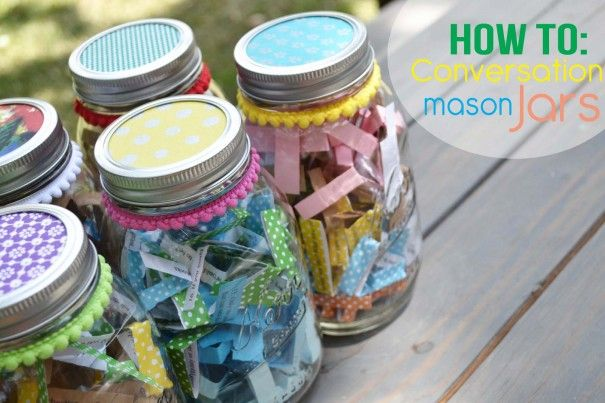 #Family Conversation Jars