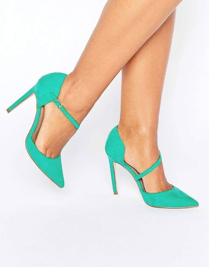 Asos Petal Asymmetric Pointed High Heels #highheels #shoes #heels  #fashionshoes