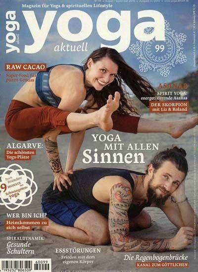 Yoga mit allen Sinnen. Gefunden in: Yoga Aktuell, Nr. 99/2016