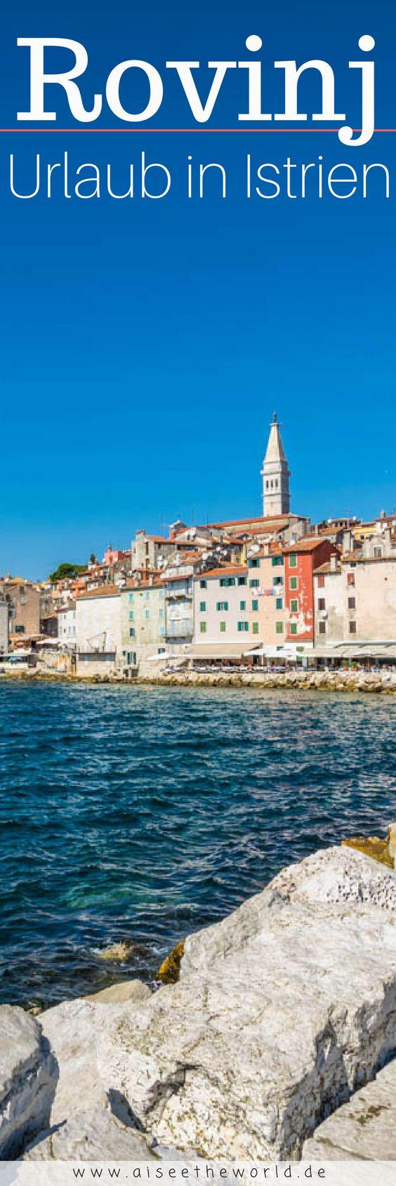 Tipps für deine #Reise nach #rovinj - du fliegst nach Kroatien und benötigst noch Reisetipps für deinen nächsten Urlaub? Besuche unbedingt die Stadt Rovinj in #istrien #europa
