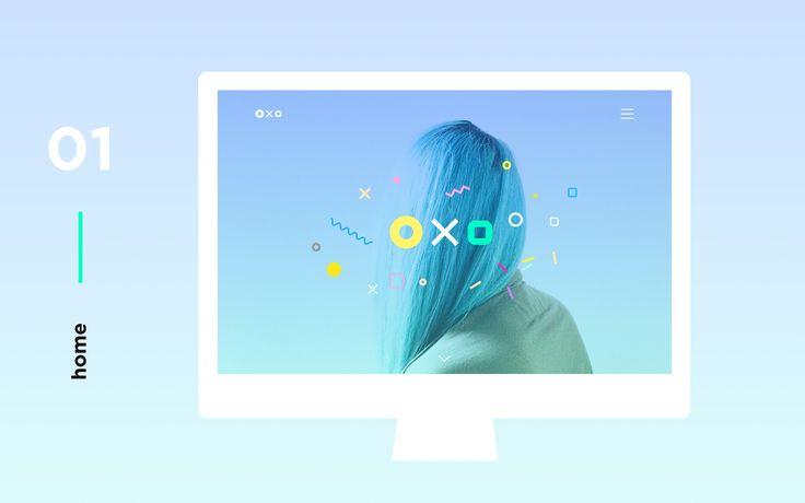 Oxo is a Responsive Website Portfolio Template for Designers, Photographers…