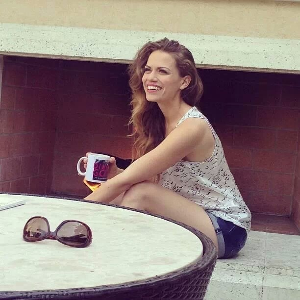 Bethany Joy Lenz she's always smiling and in One Tree Hill she has a great personality!