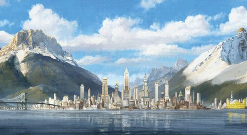 Republic City - The Beginning and The End