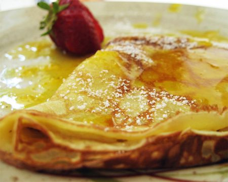 Crepes Suzette Recipe - delicious, a little on the sweet side