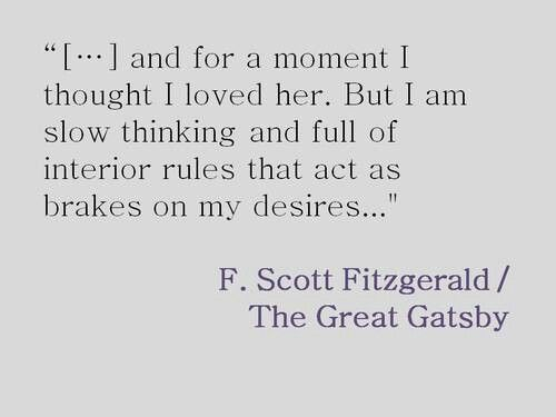 the disenchantment of nick carraway with jordan in the great gatsby by f scott fitzgerald The great gatsby by f scott fitzgerald  nick might end up halfway in love  with jordan, but he consistently  so what does nick see in her, anyway one of .