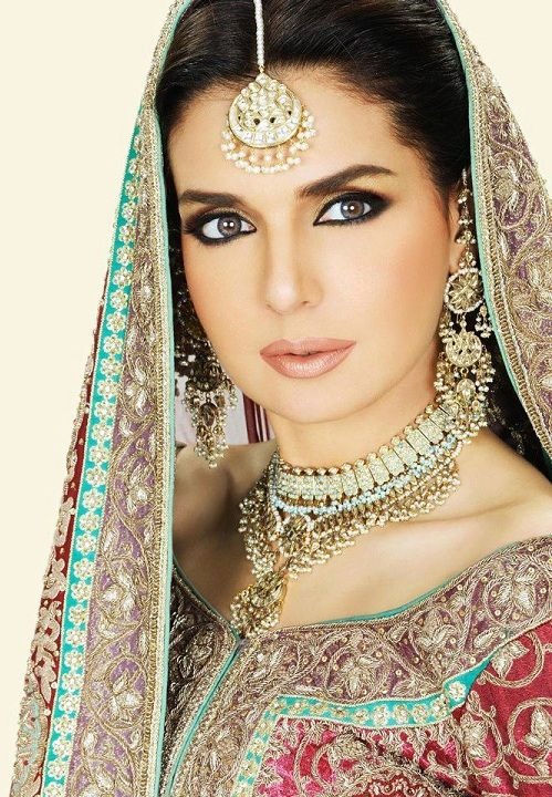 wedding makeup styles | ... Style: Pakistani Bridal Makeup l Latest New Bridal Wedding Makeup