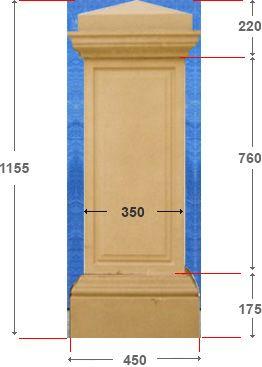 Gate Post P3 760 - 3