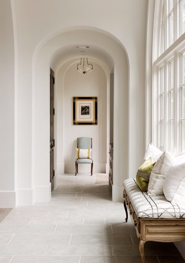 arches along the Hallway
