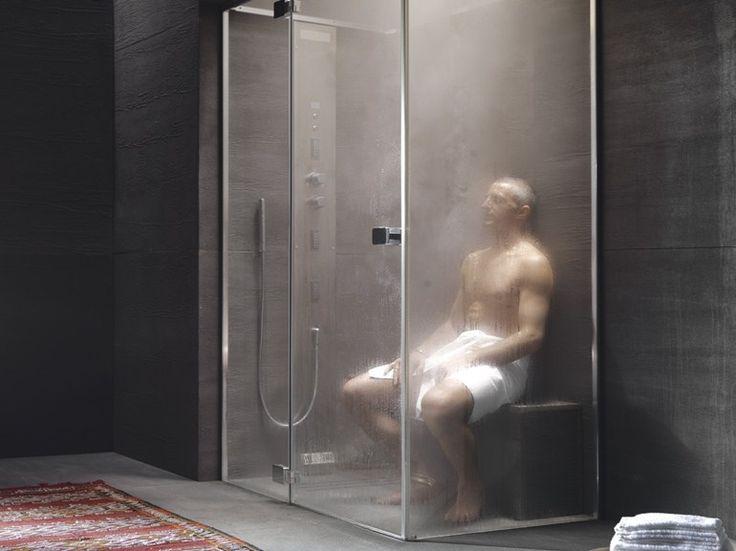 Dampfbad mit Dusche NOOR STEAM - Glass 1989