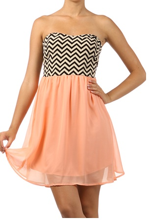 love it!!!: Chevron Dresses, Dreams Closet, Blushes E.L.F., Cute Dresses, Dresses Skirts, Blushes Dresses, Prom Dresses, Fashion Lounges, Chevron Blushes