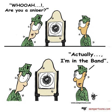 Every Marine A Rifleman Cartoons Created By Gunny Wolf For