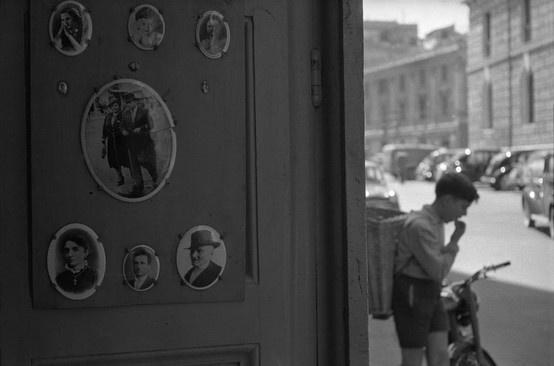 Descrizione: Roma  Anno: 1956 Fotografo: René Burri