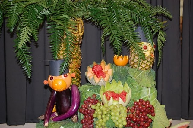 Fruit Display For Graduation Party Beatrice Banks Party