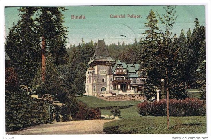 Sinaia - Castelul Pelisor - 1907