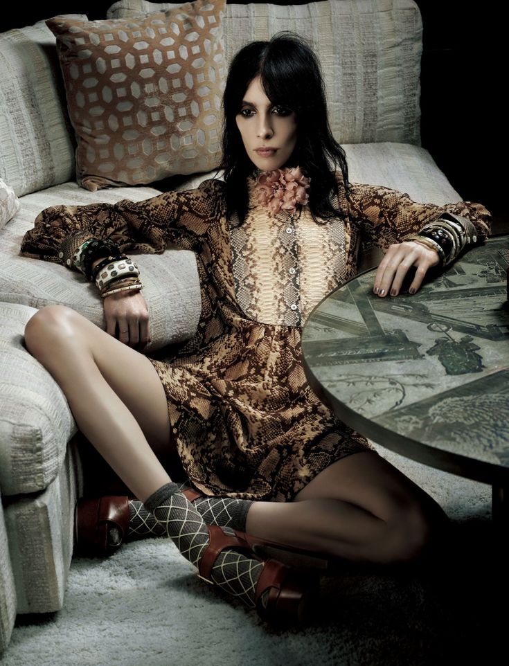 Jamie Bochert by Mark Segal for Vogue Japan February 2016