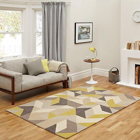 Buy john lewis holm rug putty citrine online at for John lewis bedroom ideas