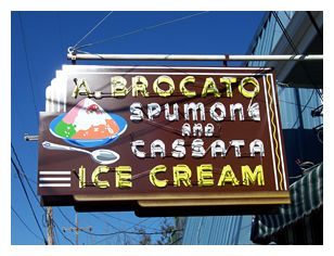 Angelo Brocato's - this Italian ice cream shop has been around over 100 years. It's always packed, for good reason!