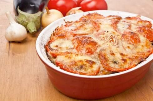 fromage gratin ail tomate