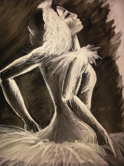 Черно-белые фото балерин  В балетах прошлого существовала целая система условных обозначений. Если артист, к примеру, проводил по своему лбу ребром ладони, подразумевая, что у него на голове корона, это означало «король»; сложил крестообразно руки на груди, значит, «умер»; указал на безымянный палец руки, где обычно носят кольцо — «хочу жениться» или «женат»; стал делать руками волнообразные движения, значит, «приплыл на корабле» и так далее. Разумеется, все эти жесты были понятны лишь ...