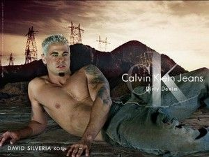 David Silveria's ad for Calvin Klein Jeans. The single picture that threw me into the depths of puberty, ladies and gents.