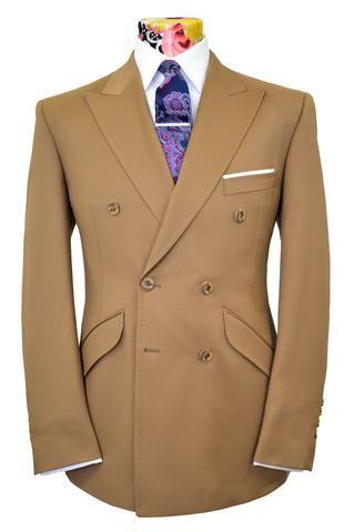 The Allerton Mustard Brown Suit