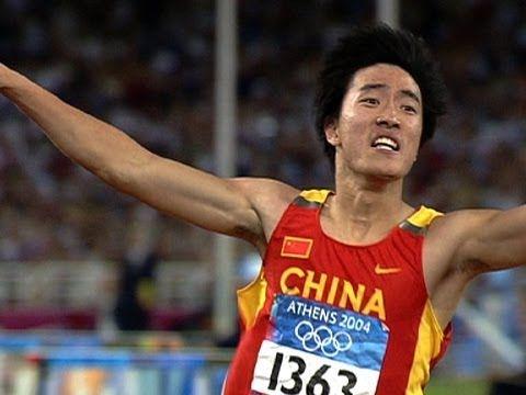 Liu Xiang Wins Historic 110m Hurdles Gold - Athens 2004 Olympics - YouTube