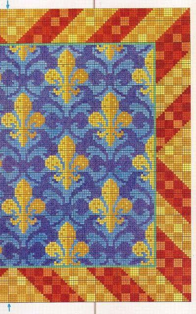 Esquemas alfombras punto cruz - Pilar Garcia - Picasa-Webalben Viele Vorlagen in diesem Album