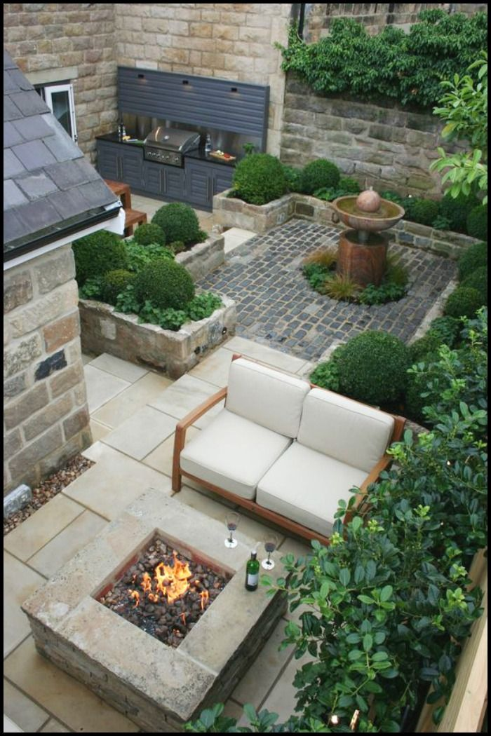 How's this for a cozy fire place in your backyard? Have a look at more ideas by heading over to our site!