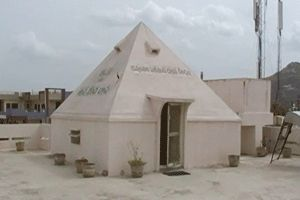 Dhanavanthari Pyramid Meditation Center year of construction : 2007 size : 14ft x 14ft (roof top) | capacity : 25 persons cost incurred :  1 lakh | type of structure : RCC timing : 24x7, open for public use technical support : Somasekara Sharma contact : Dr. Venugopala Reddy, mobile : +91 94405 10205 address : Doctor's colony, opp. Greenline Hospital, near RTC bus stand, Nalgonda town http://www.pyramidseverywhere.org/pyramids-directory/telangana/nalgonda-district  #Pyramid #Pyramids