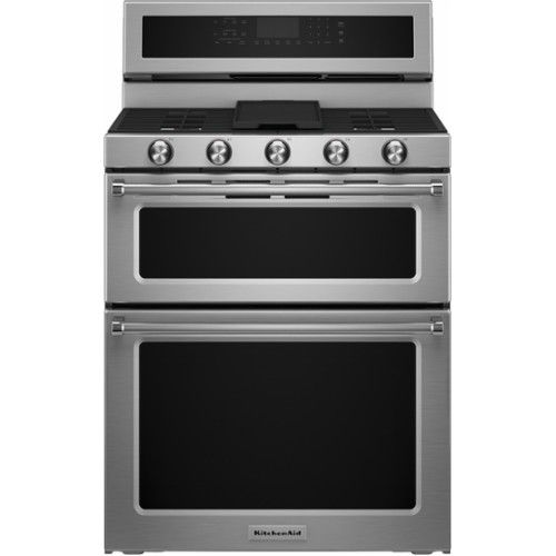 Getting excited about adding this KitchenAid Gas Ranges to the house soon from Pacific Sales!