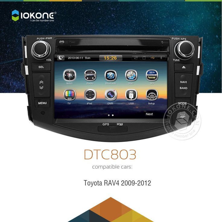 IOKONE Car DVD Player / GPS Nav / Autoradio For Toyota