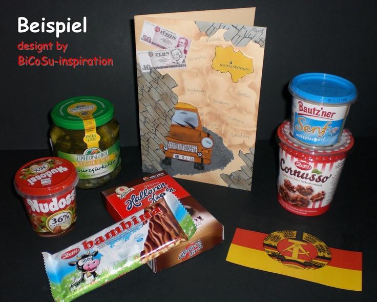 Punch Art - Happy Birthday - Geburtstagskarte - Thema DDR - Ostdeutschland