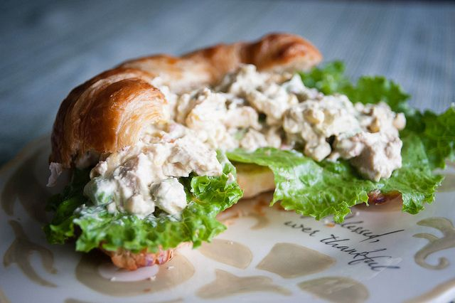 A FRESH TAKE ON CHICKEN SALAD THAT SOUNDS LIKE A WHOLE LOT OF WOW!!
