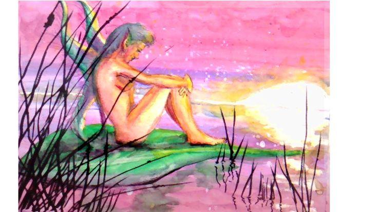 Cómo Pintar con Acuarela: PIntando un Hada
