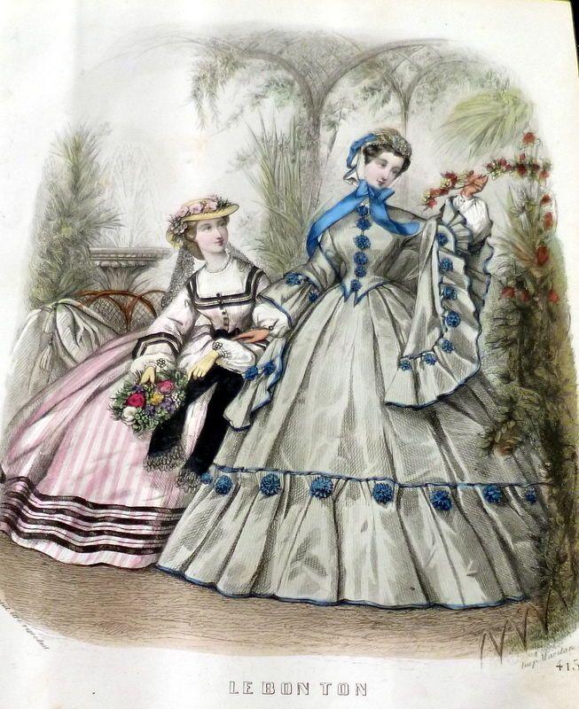 629 besten 1860s Clothing Bilder auf Pinterest | Vintage mode, Retro ...