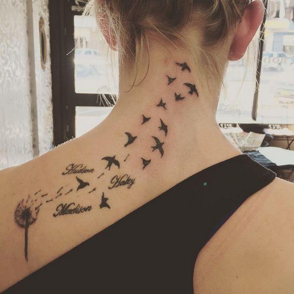 dandelion tattoo #ink #youqueen #girly #tattoos #dandelion